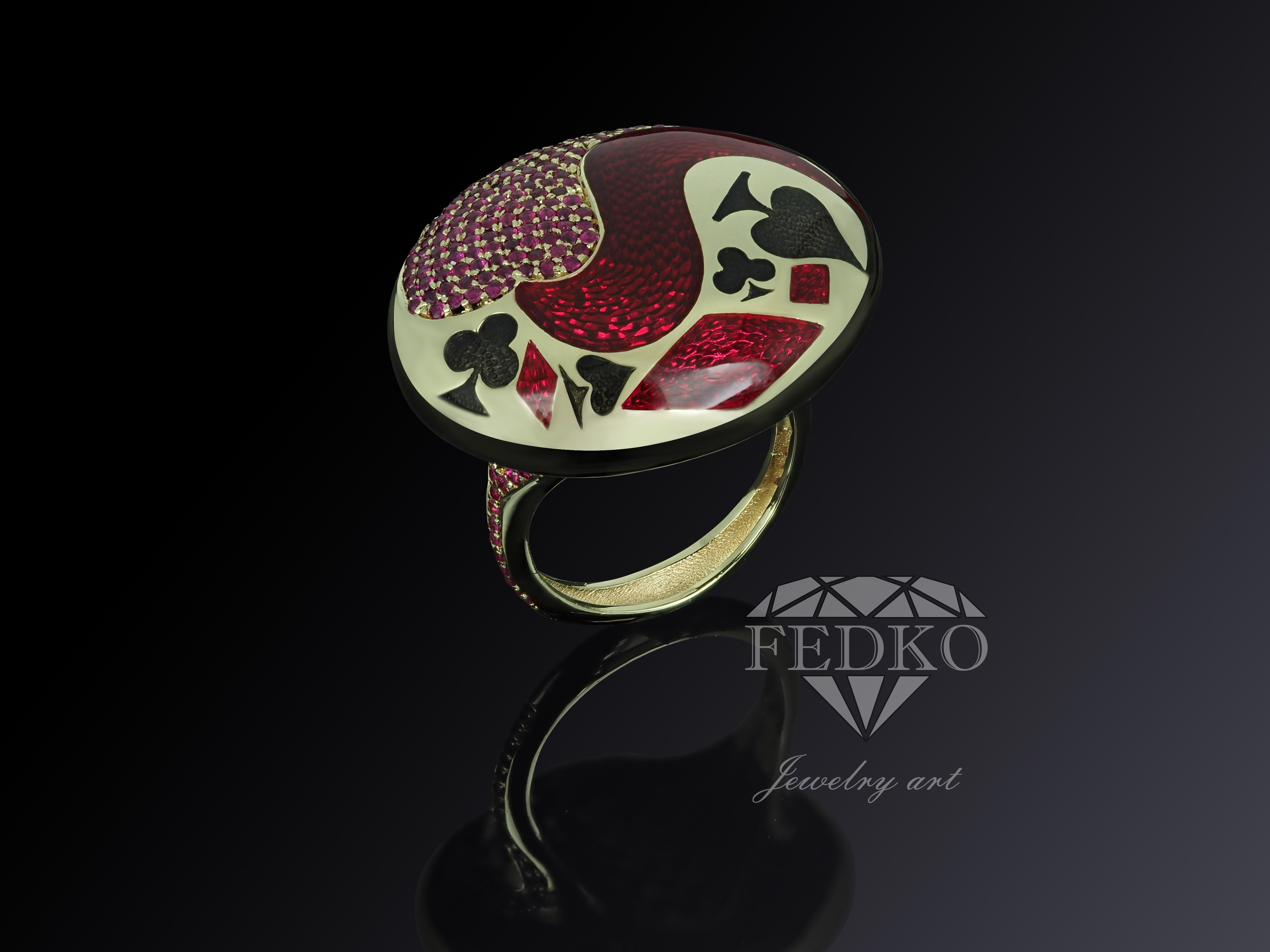 "Ring ""Cazino"""
